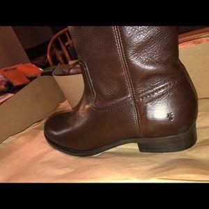 Frye chocolate boots